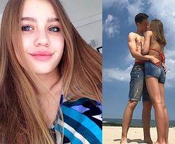 """15-letnia Oliwia Bieniuk całuje się z chłopakiem! """"My love"""" (FOTO)"""