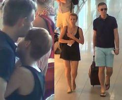 Zielińska z mężem na lotnisku!