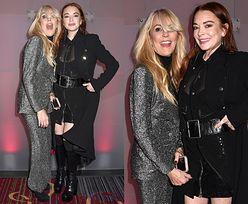 Lindsay Lohan imprezuje z podekscytowaną mamą w Nowym Jorku