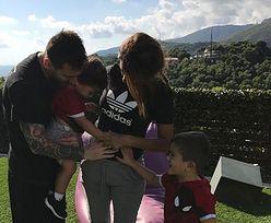 """Leo Messi znów zostanie ojcem! """"Pięć osób w rodzinie"""""""