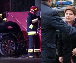 """Policja o wypadku Szydło: """"Pojazdy uprzywilejowane mogą nie stosować się do pewnych zasad ruchu drogowego"""""""