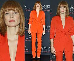 """Jessica Chastain chwali się nową fryzurą na promocji """"X-Menów"""""""