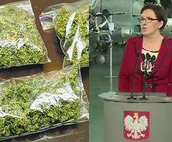 """Ewa Kopacz: """"Preparat oparty na marihuanie jest już na polskim rynku medycznym!"""""""