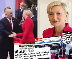 """Zagraniczne media wyśmiewają wpadkę Agaty Dudy! Prezydent na Twitterze: """"Walczmy z fake newsami!"""""""