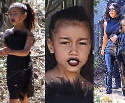 """Kim Kardashian atakowana przez """"instamatki"""". """"Czemu pozwalasz nosić North makijaż do kościoła?"""" (FOTO)"""