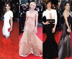 Suknia o kroju syreny podbiła Cannes! (ZDJĘCIA)