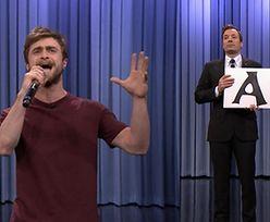 Daniel Radcliffe RAPUJE... Zobaczcie, jak mu poszło!