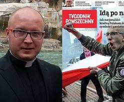 """Ksiądz o spotkaniu z nacjonalistami: """"Nie powiedziałem, że jestem księdzem. Dowiedziałem się, że jestem niedouczonym katolikiem, który nie zna Ewangelii!"""""""