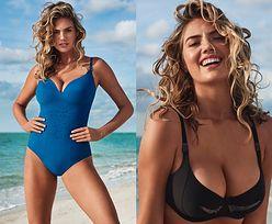 Kate Upton powraca w reklamie kostiumów kąpielowych