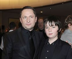 Syn Kamila Durczoka zapozował z mamą na ściance. Chłopak bardzo się zmienił (ZDJĘCIA)
