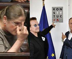 """Krystyna Pawłowicz o liderze zespołu U2: """"Jakiś Bono z proafrykańskiej partii JUTU"""""""