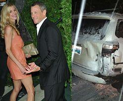 Dziewczyna Armstronga OKŁAMAŁA POLICJANTÓW! Chciała go kryć po wypadku!