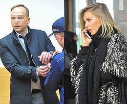Zdenerwowany Dariusz K. z żoną na kolejnej rozprawie (ZDJĘCIA)