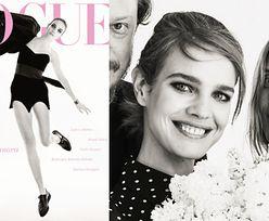 "Natalia Vodianova na majowej okładce ""Vogue Polska"""
