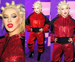 Christina Aguilera i jej liczne koczki podbijają ściankę w Las Vegas