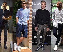 Koszula ze stójką - delikatna elegancja w wydaniu celebrytów