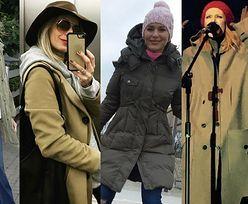 Płaszcze w kolorze khaki w damskiej szafie - 5 stylizacji gwiazd