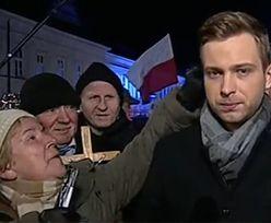 Dziennikarze bronią reportera TVP przepędzonego spod Pałacu Prezydenckiego