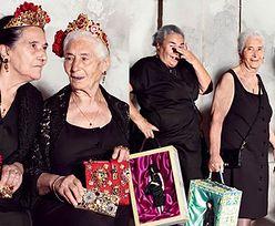 Stare modelki w reklamie Dolce & Gabbana (ZDJĘCIA)
