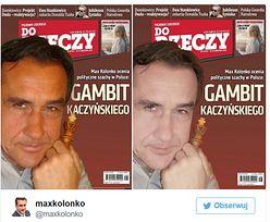 """Mariusz Max Kolonko o okładce """"Do Rzeczy"""": """"Wybielony jak Jackson"""" (FOTO)"""
