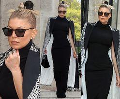 Wystylizowana Fergie-singielka na tygodniu mody