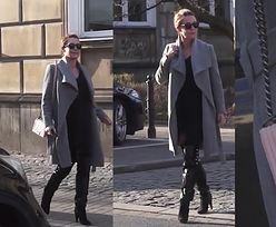 Rozenek na mieście z ulubioną torebką Chanel