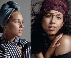 """Alicia Keys pozuje dla brytyjskiego """"Elle"""""""