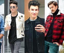 Z czym celebryci noszą kurtki jeansowe?