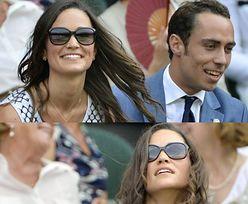 Pippa z bratem na Wimbledonie