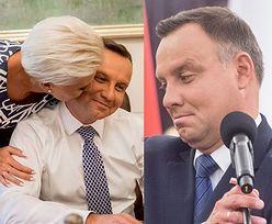 Agata Duda czule całuje męża w policzek. Słodko? (FOTO)