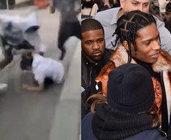 ASAP Rocky pobił mężczyznę. Na nagraniu widać, jak RZUCA GO NA ZIEMIĘ I OKŁADA PIĘŚCIAMI (WIDEO)