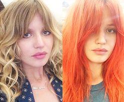 Córka Micka Jaggera przefarbowała się na rudo!