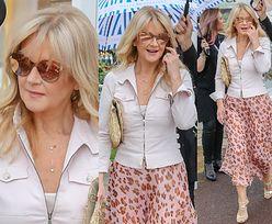 Cannes 2019: Wyluzowana Grażyna Torbicka spaceruje po bulwarze Croisette z obstawą. Stylowa? (FOTO)