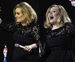 """Adele POKAZAŁA """"FAKA"""" fanom? (WIDEO)"""
