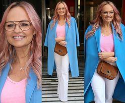 Wiosenna Emma ze Spice Girls czaruje fotografów uśmiechami