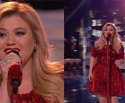 Ciężarna Kelly Clarkson śpiewa świąteczny singiel!