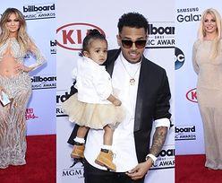 Gwiazdy na Billboard Music Awards! Brown przyszedł z córką... (ZDJĘCIA)