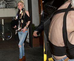 Wychudzona Tara Reid na randce. Cierpi na anoreksję? (ZDJĘCIA)