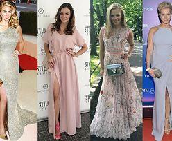 Długie sukienki na wesele - inspiracje gwiazd