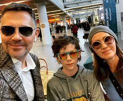 """Ibisz chwali się dobrą relacją z synem i byłą żoną. """"Ekipa odebrana"""" (FOTO)"""