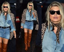 Modna Fergie w stylizacji za 36 tysięcy