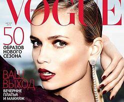 """Vogue"" uciął modelce rękę!"