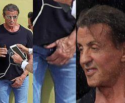 """Stary ale jary? 72-letni Sylvester Stallone na planie nowego """"Rambo"""" (FOTO)"""