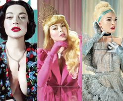 """""""Grzeczna"""" Lindsay Lohan udaje księżniczki Disney'a"""