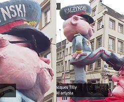 """Autor karykatury Kaczyńskiego depczącego Polskę: """"Nie miałem na myśli nic obraźliwego. To karnawałowy żart!"""""""