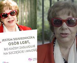 """Zofia Czerwińska wspiera gejów: """"To są dzieci Boga! Chcą się kochać, pozwólmy im na to"""""""