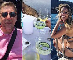 Julia Oleś spędza wakacje na Santorini z o 21 lat starszym byłym posłem PiS-u (TYLKO U NAS)