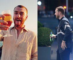 Sam Smith raczy się małym piwkiem po koncercie w Polsce (ZDJĘCIA)
