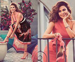 Eva Mendes pozuje z butami