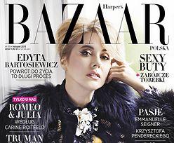 """Bartosiewicz na okładce """"Harper's Bazaar""""! (FOTO)"""